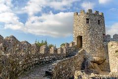 O castelo do amarra fotos de stock royalty free