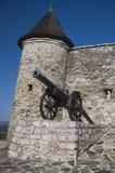 O castelo do canhão foto de stock