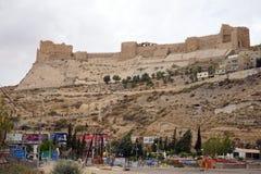 O castelo do cruzado no monte imagem de stock royalty free