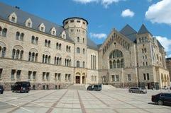 O castelo do imperador em Poznan, Polônia Foto de Stock Royalty Free
