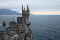 O castelo do ninho da andorinha imagens de stock royalty free