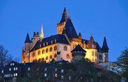 O castelo do wernigerode Imagem de Stock