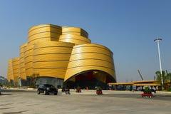O castelo dourado Fotos de Stock Royalty Free