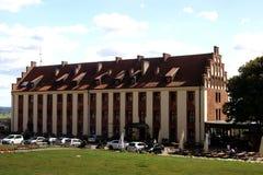 O castelo em Gniew Fotografia de Stock Royalty Free