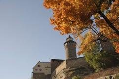 O castelo em Nuremberg Imagens de Stock