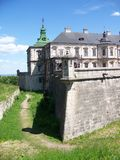 O castelo em Podhorce Fotos de Stock Royalty Free