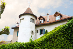 O castelo gosta da mansão velha Imagem de Stock Royalty Free