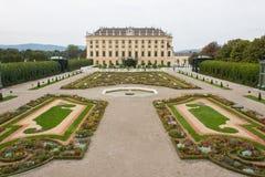O castelo histórico de Schönbrunn Imagem de Stock