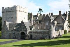 O castelo histórico do cilindro em Escócia, Grâ Bretanha fotografia de stock