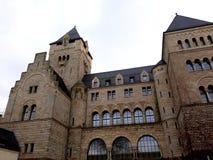 O castelo imperial de Wilhelm Ii em Poznan fotografia de stock royalty free