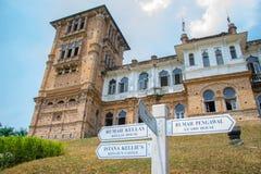 O castelo Ipoh malaysia de Kellie Fotos de Stock