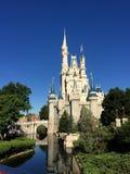 O castelo mágico de Cinderella fotografia de stock royalty free