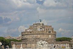 O castelo mantém-se em Roma foto de stock