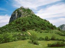 O castelo Monsegur Imagem de Stock Royalty Free