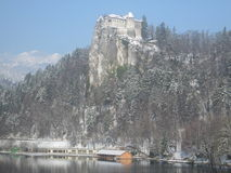 Slovenia sangrado Foto de Stock Royalty Free