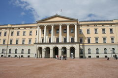 O castelo norueguês real imagem de stock royalty free