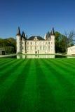 O castelo Pichon Longueville é uma propriedade famosa do vinho do Bordéus fotos de stock