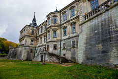 O castelo polonês em Podhorce, Ucrânia Fotografia de Stock Royalty Free