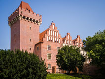 O castelo real em Poznan fotos de stock royalty free