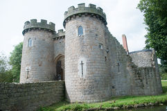 O castelo velho Imagens de Stock Royalty Free
