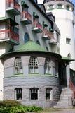 O castelo velho do jugend chamou Valtionhotelli Fotografia de Stock