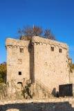 O castelo velho histórico Hohenbaden em Baden-Baden Imagem de Stock