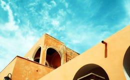 O castelo vermelho Tripoli Alsaraya fotos de stock
