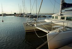 O catamarã Imagem de Stock Royalty Free