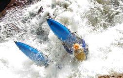 O catamarã do acidente Imagem de Stock Royalty Free