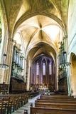 O Cathedrale Sainte Sauveur em Aix-en-Provence, France Imagem de Stock
