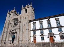 O Catherdral de Porto, Portugal Fotos de Stock Royalty Free