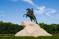 O cavaleiro de bronze Imagem de Stock