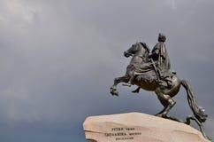 O cavaleiro de cobre Fotografia de Stock Royalty Free