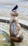 O cavaleiro e o lago Constance Fotos de Stock Royalty Free