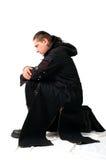 O cavaleiro escuro Fotografia de Stock