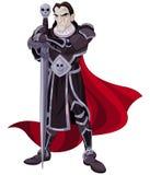 O cavaleiro escuro Imagens de Stock