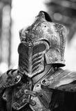 O cavaleiro preto Imagem de Stock