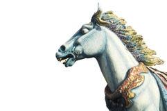 O cavalo é furiously Fotos de Stock Royalty Free