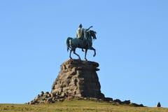 O cavalo de cobre Imagem de Stock