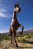 O cavalo do metal Fotos de Stock