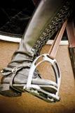 O cavalo que salta 030 Imagens de Stock