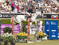 O cavalo que salta - Katharina Offel Imagens de Stock