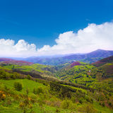 O Cebreiro mountains by the way of Saint James Royalty Free Stock Photo