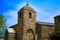 O Cebreiro by the way of Saint James in Galicia Royalty Free Stock Photography