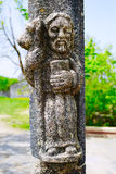 O Cebreiro by the way of Saint James in Galicia Royalty Free Stock Images