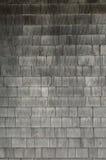O cedro resistido cinza agita o fundo das telhas imagem de stock royalty free