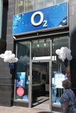 O2 cellulare, Germania Fotografie Stock