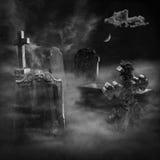 O cemitério Imagens de Stock Royalty Free