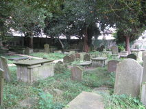 O cemitério de St Mary, banho Reino Unido Imagem de Stock Royalty Free