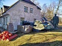 O cemitério dos monumentos Foto de Stock Royalty Free